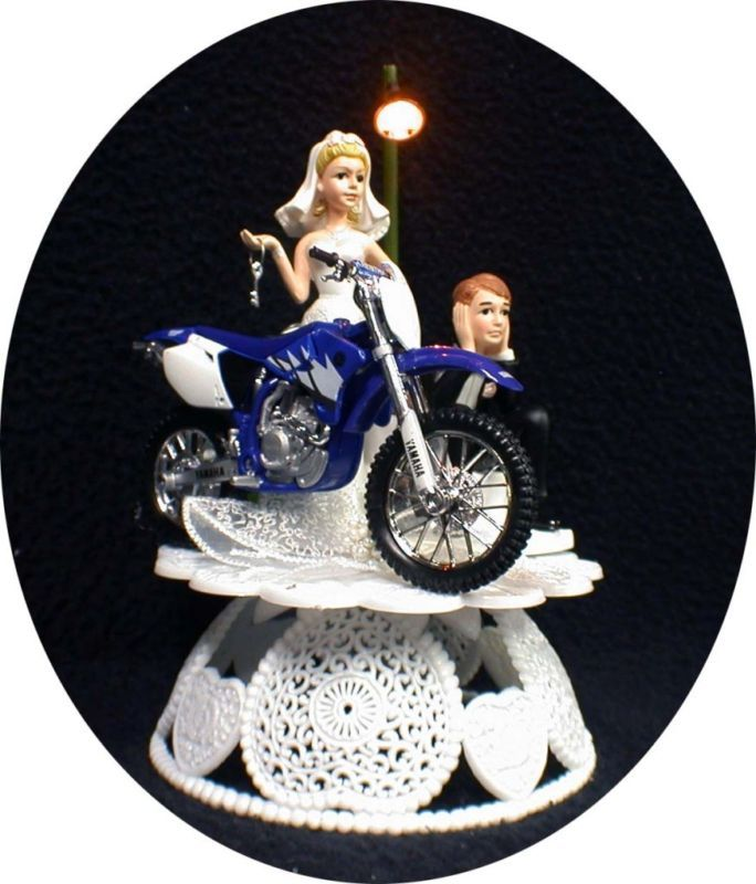 Fast Bike Cake Toppers
