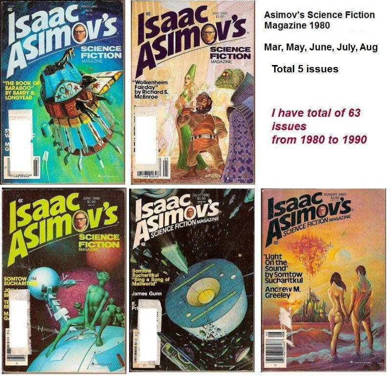Image 2 of Isaac Asimov's Science Fiction Magazine May 1980