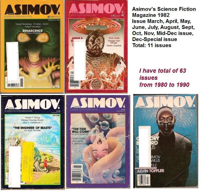 Image 2 of Isaac Asimov's Science Fiction Magazine August 1982