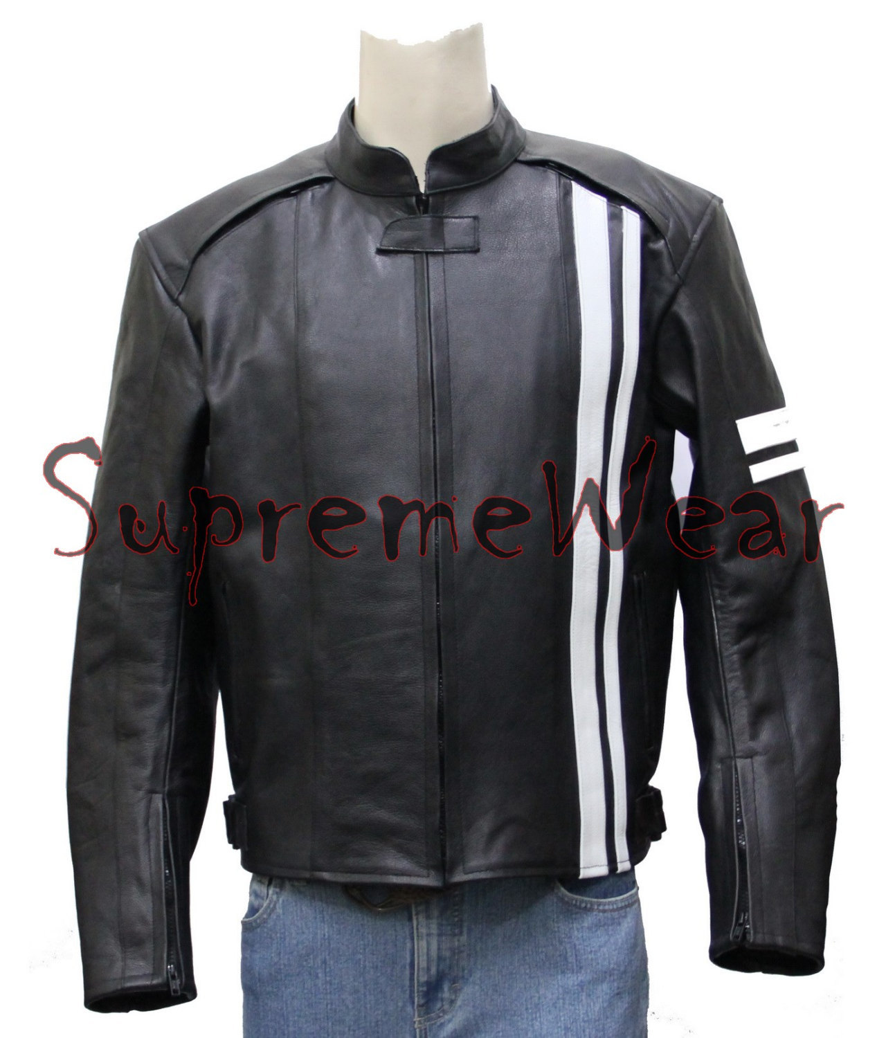Leather sport jackets