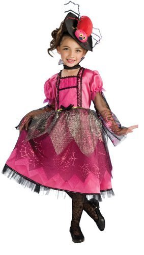 Image 0 of Rubie's Costume Co Lil' Miss Spider Costume, Hot Pink