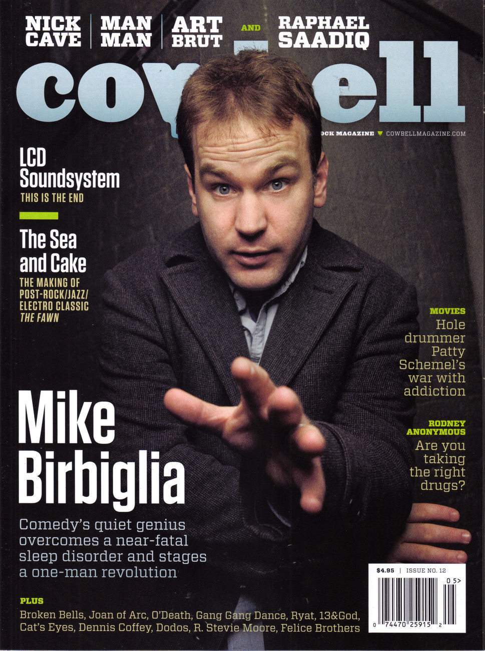 Mike Birbiglia Wallpapers MIKE BIRBIGLIA COWBELL Las Vegas Magazine Ads Flyers