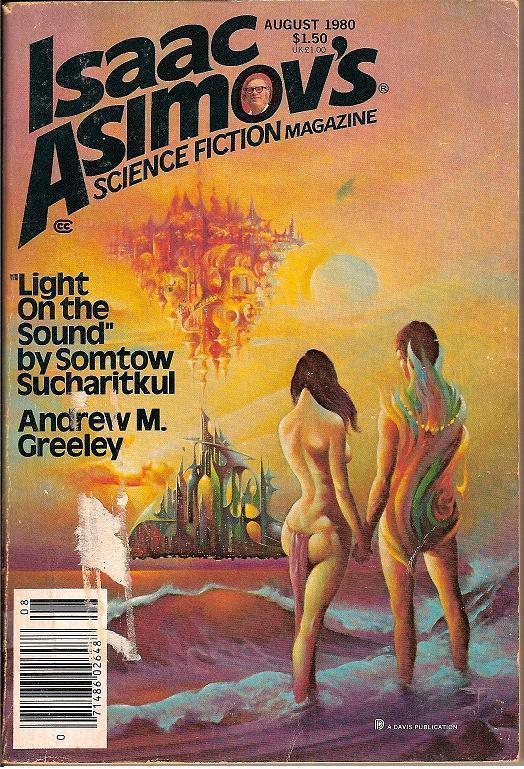 Isaac Asimov's Science Fiction Magazine August 1980
