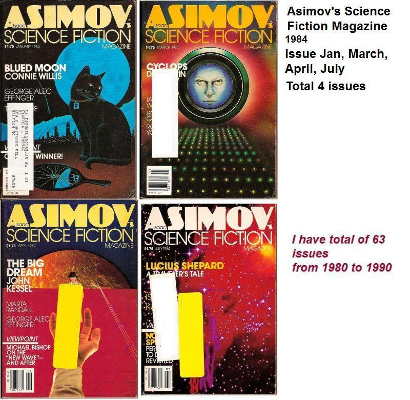 Image 2 of Isaac Asimov's Science Fiction Magazine July 1984