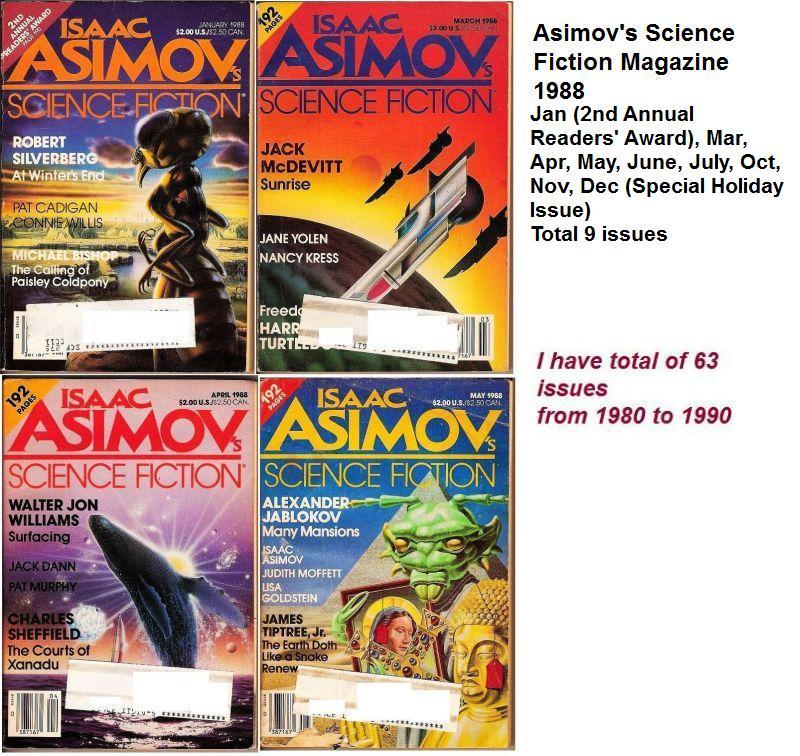 Image 2 of Isaac Asimov's Science Fiction Magazine April 1988