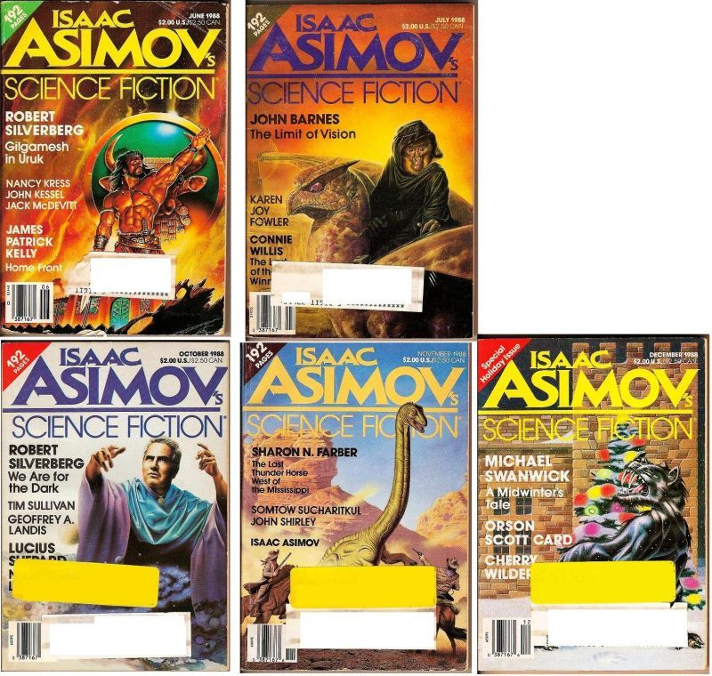 Image 3 of Isaac Asimov's Science Fiction Magazine April 1988