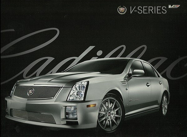 2008 cadillac v series brochure catalog cts v sts v xlr v. Black Bedroom Furniture Sets. Home Design Ideas