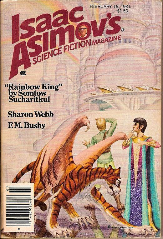 Isaac Asimov's Science Fiction Magazine February 1981