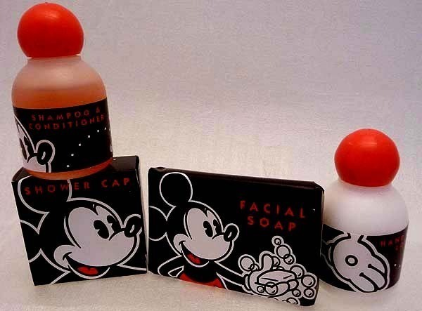 Retired DISNEY Resort Hotel Room SOUVENIR Amenities