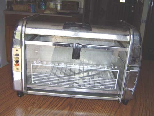 1950 ROTO-BROIL 400 Toaster Oven - Works Great