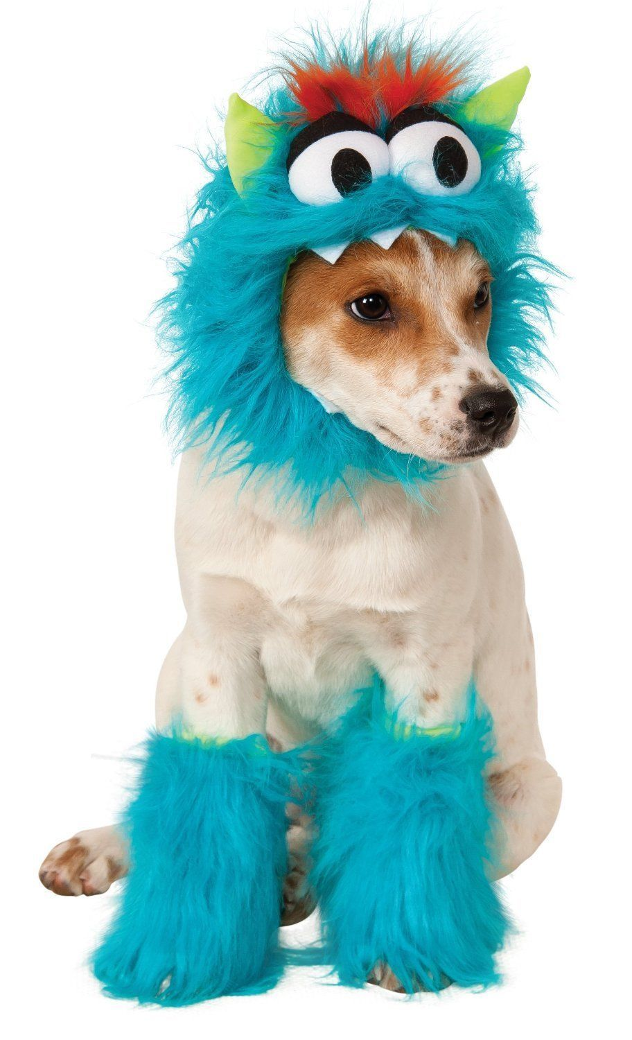 Image 3 of Adorable Pet Dog Costume: Blue Monster 580179 or Pink Monster 580180, Rubies - B