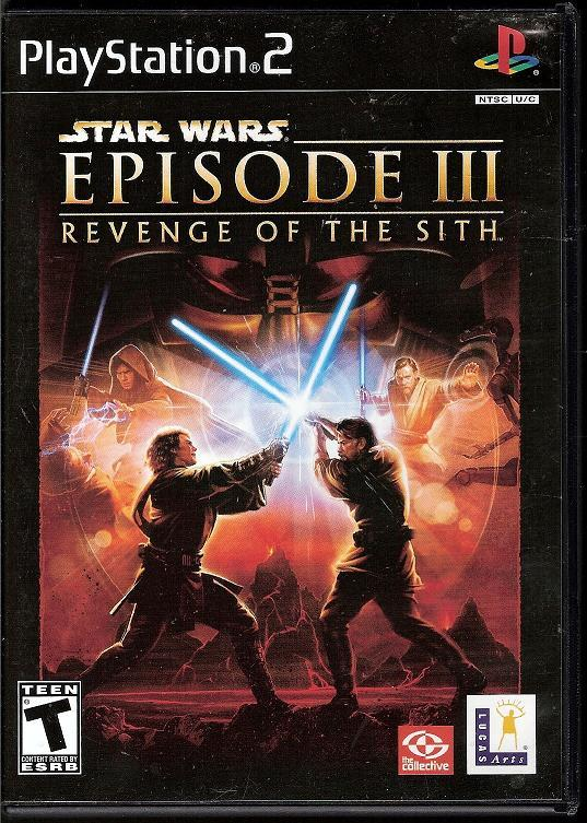 Image 0 of Star Wars Episode III Revenge of the Sith PS2 video game