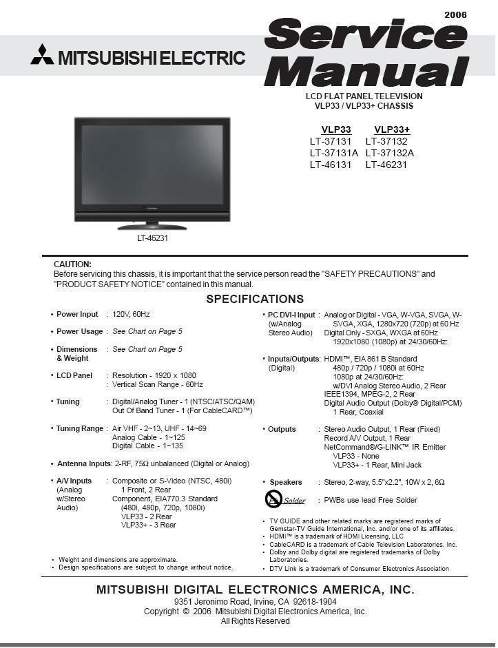 Mitsubishi-vlp33