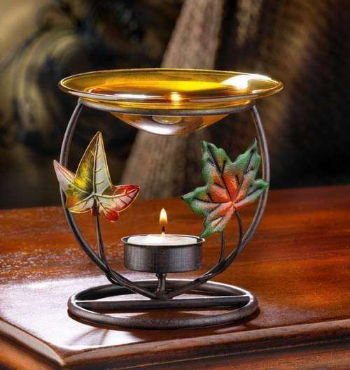 14260 SOLD OUT Colorful Ivy Oil Warmer~FREE SHIPPING
