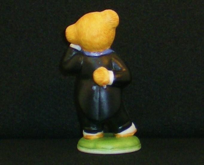 Image 2 of Hotel Teddington Reggie Bruin porcelain bear figurine 1986