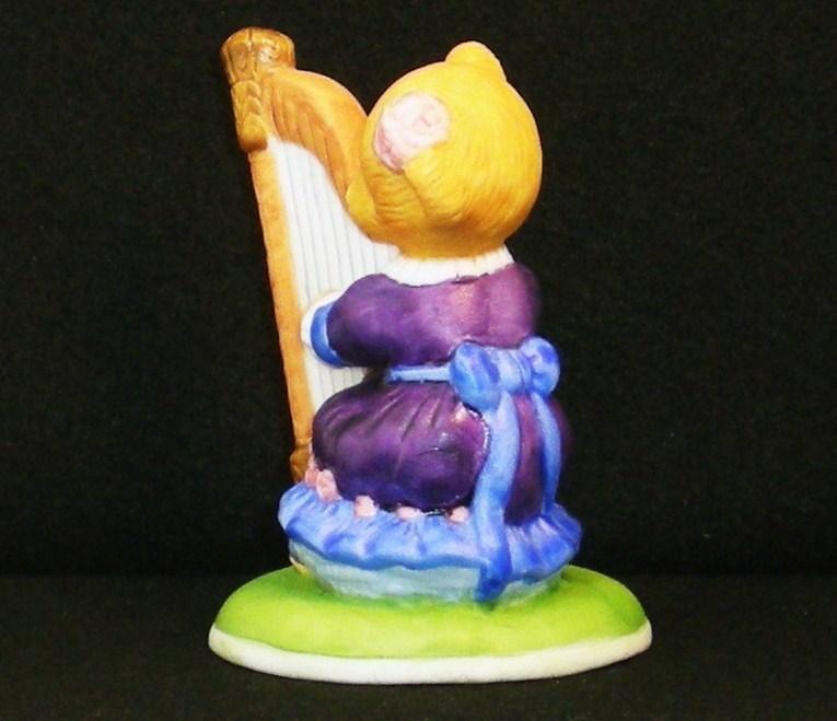 Image 2 of Hotel Teddington Honey Quaver porcelain bear figurine 1986