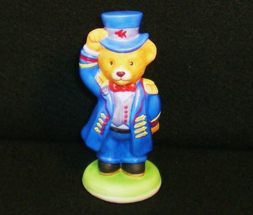 Image 1 of Hotel Teddington Porcelain bear Alfred the Doorman 1986