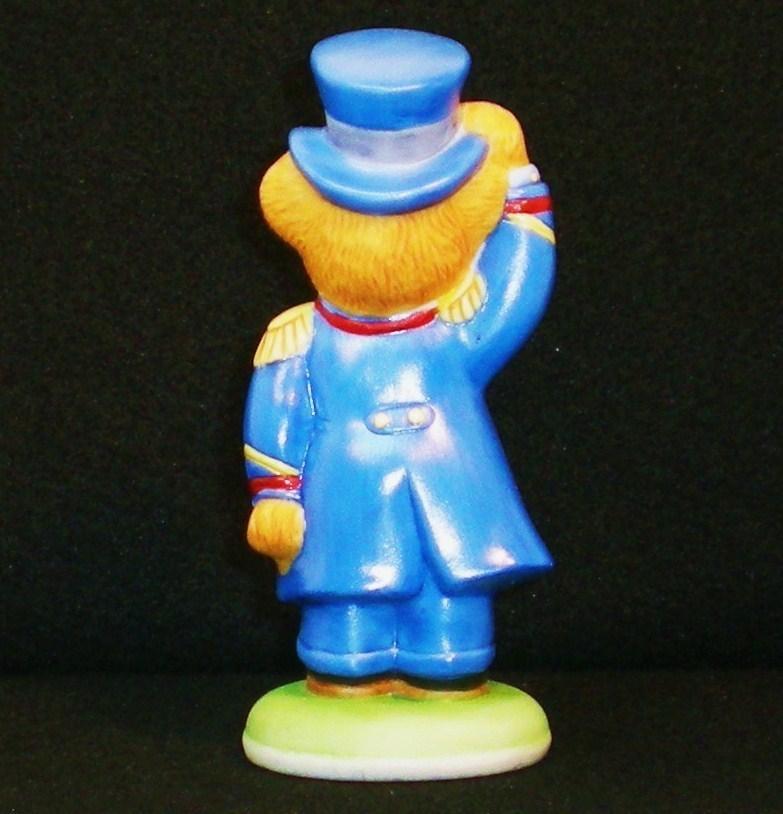 Image 3 of Hotel Teddington Porcelain bear Alfred the Doorman 1986
