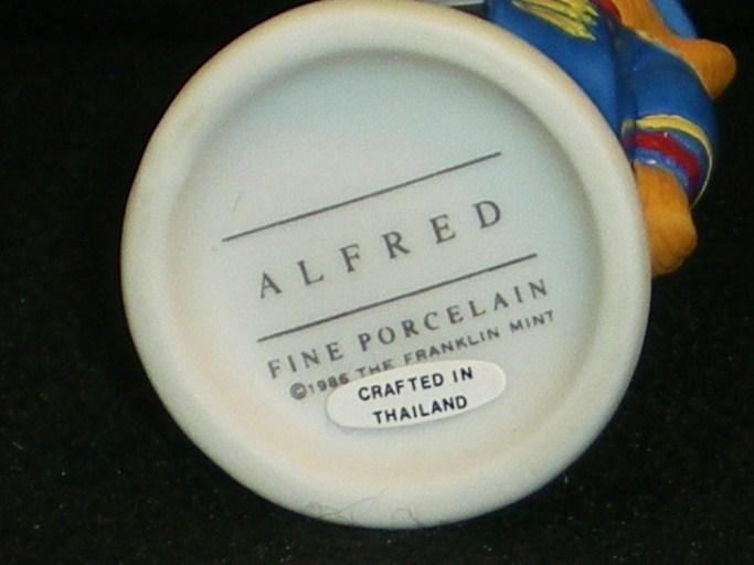 Image 5 of Hotel Teddington Porcelain bear Alfred the Doorman 1986