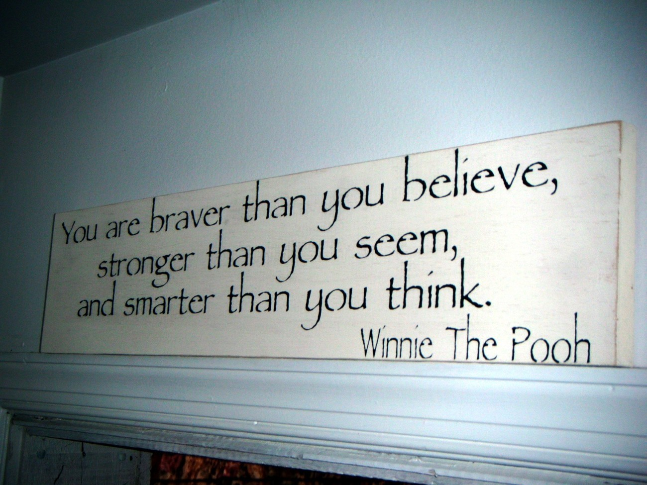 You Are Stronger Winnie The Pooh Quotes. QuotesGram