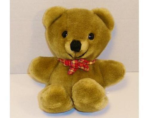 Dakin mini tan plush Teddy Bear gift 1983