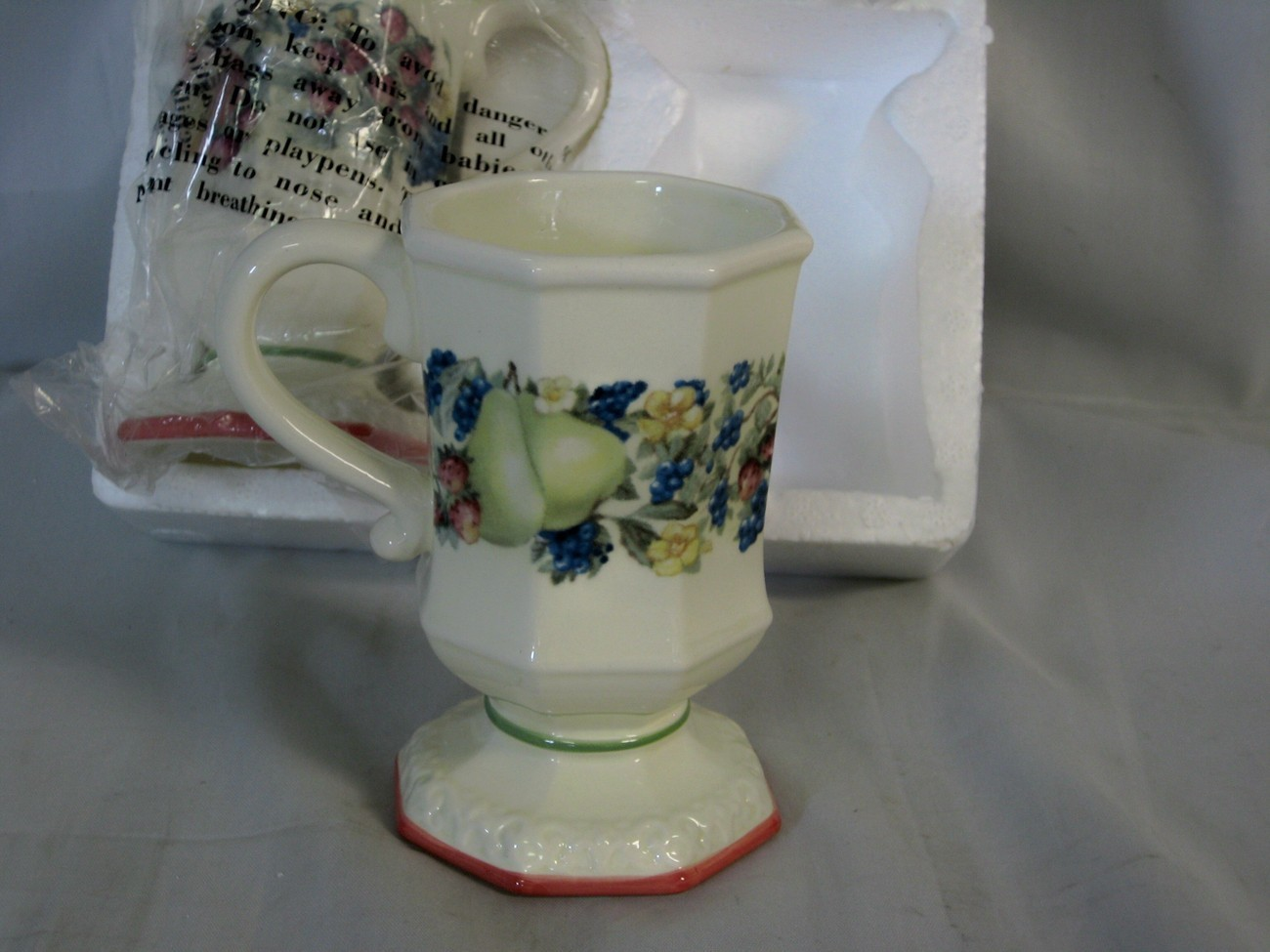 Avon Exclusive Sweet Country Harvest Set of 4 Mugs