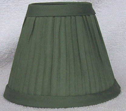 New SAGE GREEN Pleated Mini Chandelier Lamp Shade - Lamp ...