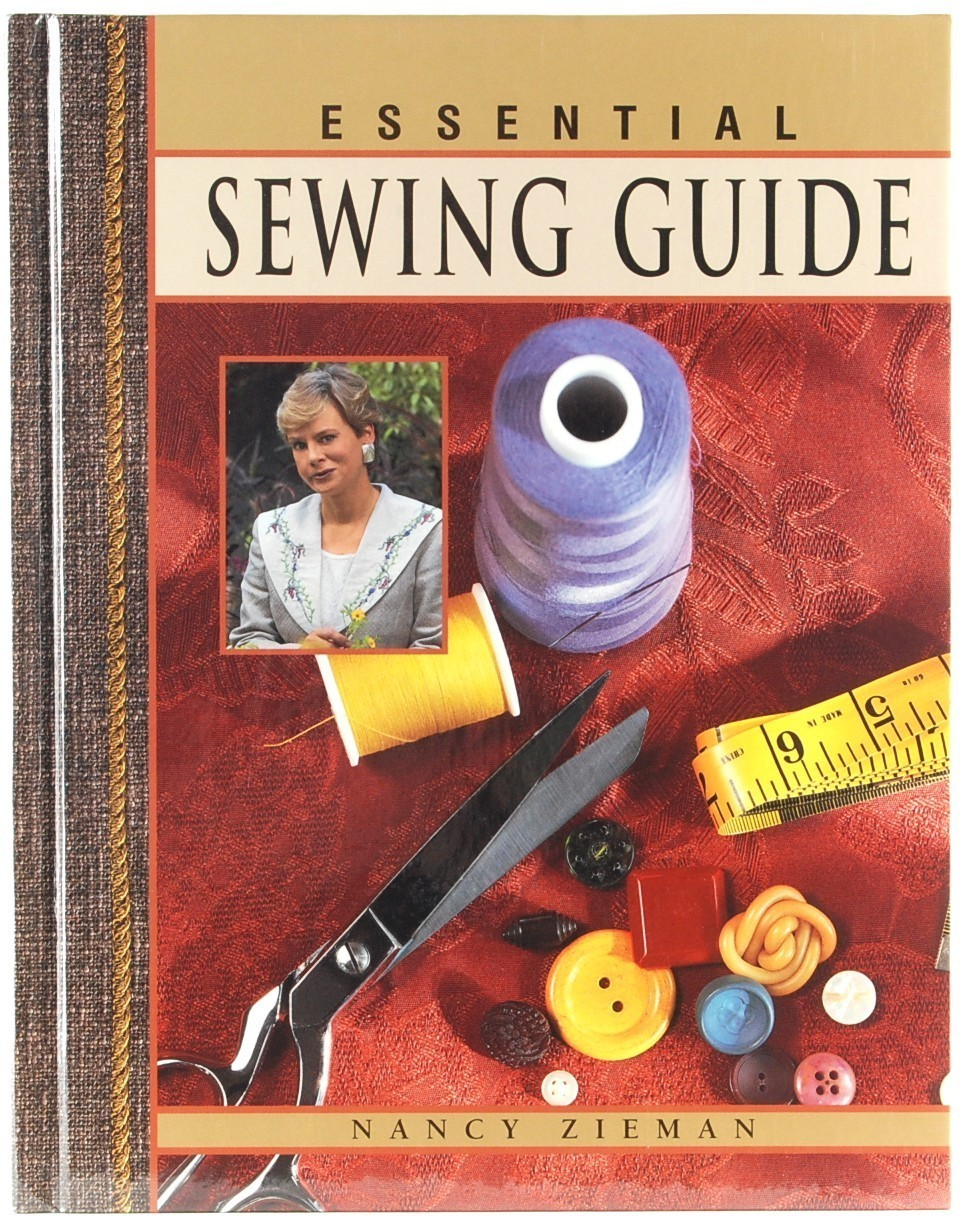 Book Cover Sewing Guide : Essential sewing guide nancy zieman hc new making