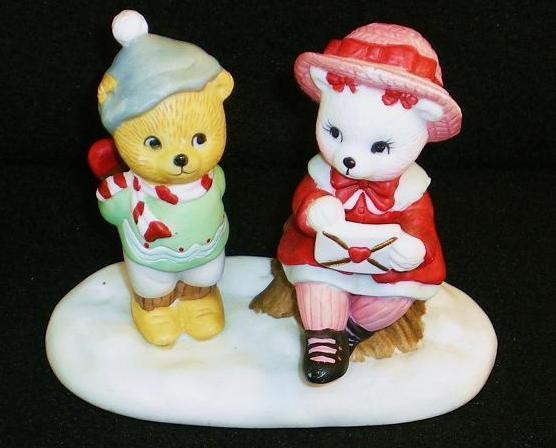 Calendar Bears February Valentine Bears Bronson Figurine