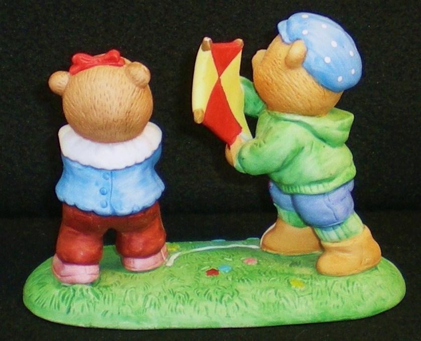 Image 3 of Calendar Bears March Winds Bears Bronson Figurine 1990