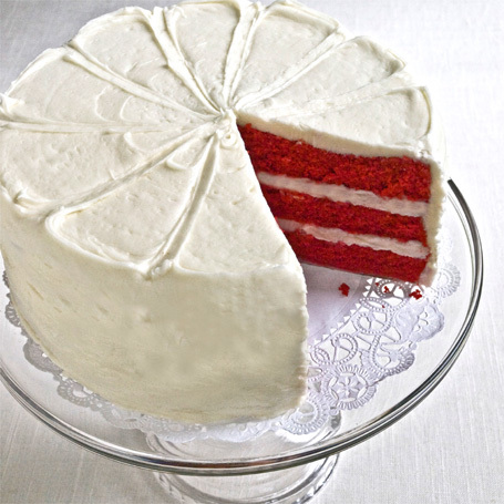 inch, 2-layer style Red Velvet Layer Cake - Desserts