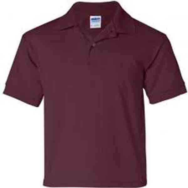 Image 3 of Pocket Polo Golf Shirt Gildan 8900, Adult, Hot Sports Colors, Cotton Blend - Bla