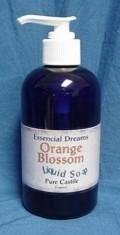 Orange Blossom Liquid Soap ~ Body Care Organic 8 ounces Bonanza