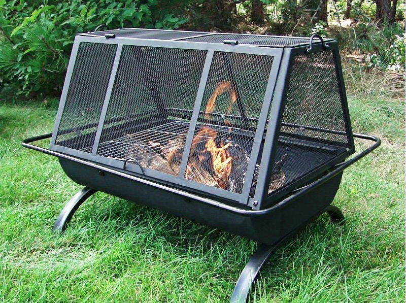 Portable Outdoor Fire Pit Grill : See the small card with the code on it? The seller printed that out