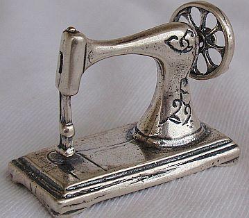 antique sewing machine miniature