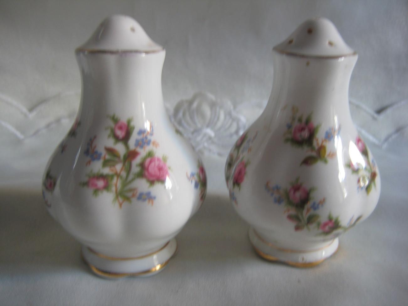 Vintage Porcelain Salt Pepper Shakers Vintage Retro