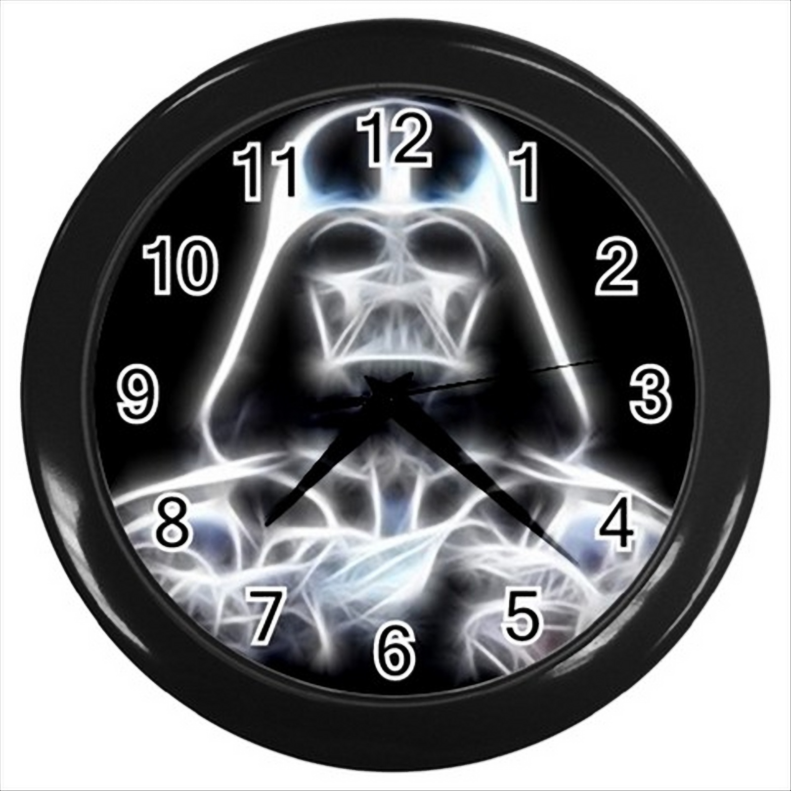 New darth vader star wars round black wall clock decor gift wall clocks - Darth vader wall clock ...