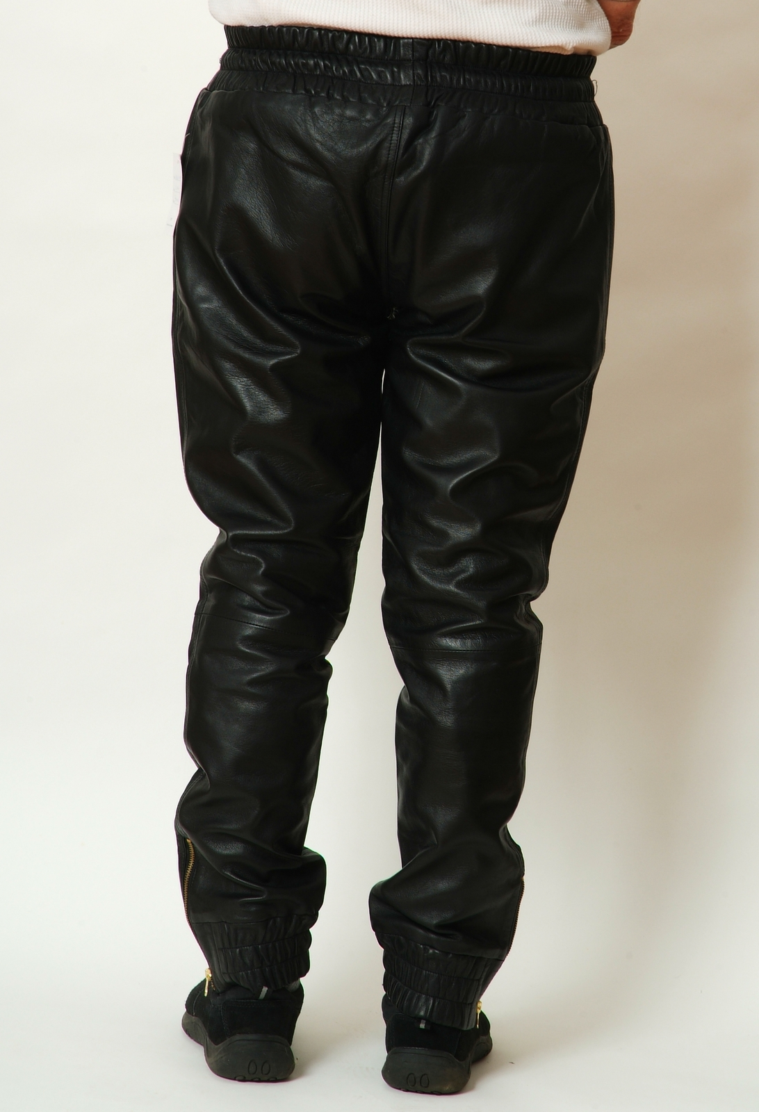 Fantastic Armani Exchange Faux Leather Jogging Pants Track Pants