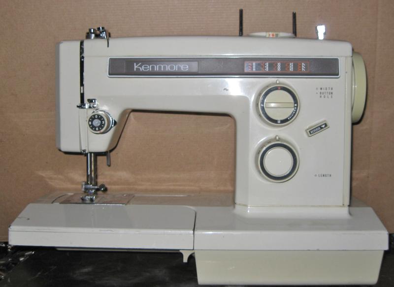 kenmore 158 series sewing machine