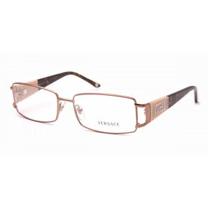 New AUTHENTIC VERSACE VE1163B 1045 Brown Eyeglass Frame ...