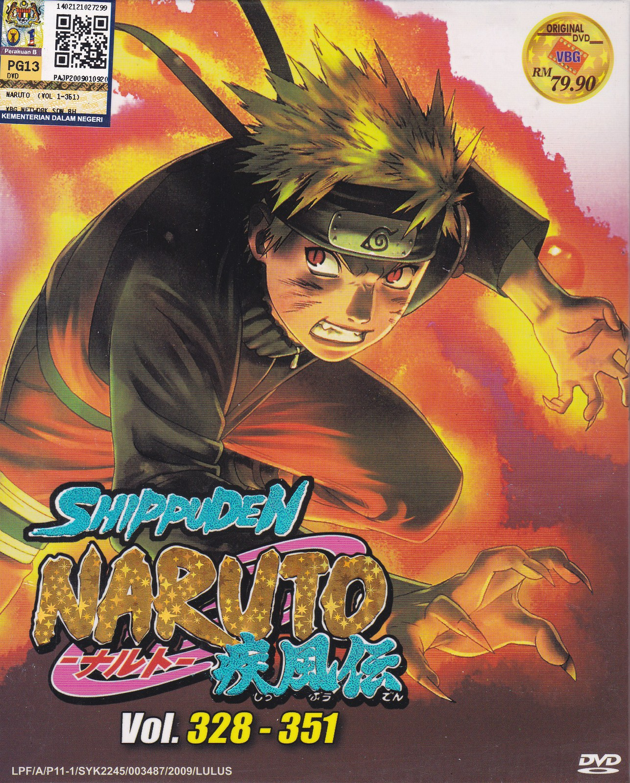 Naruto 328 – Bexdyie