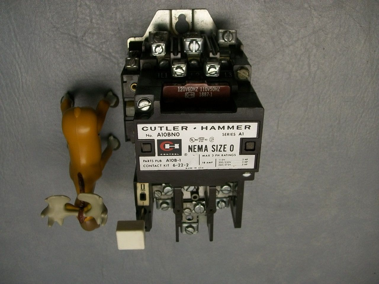 A10bn0 A10bno Cutler Hammer Starter 120v And 50 Similar Items