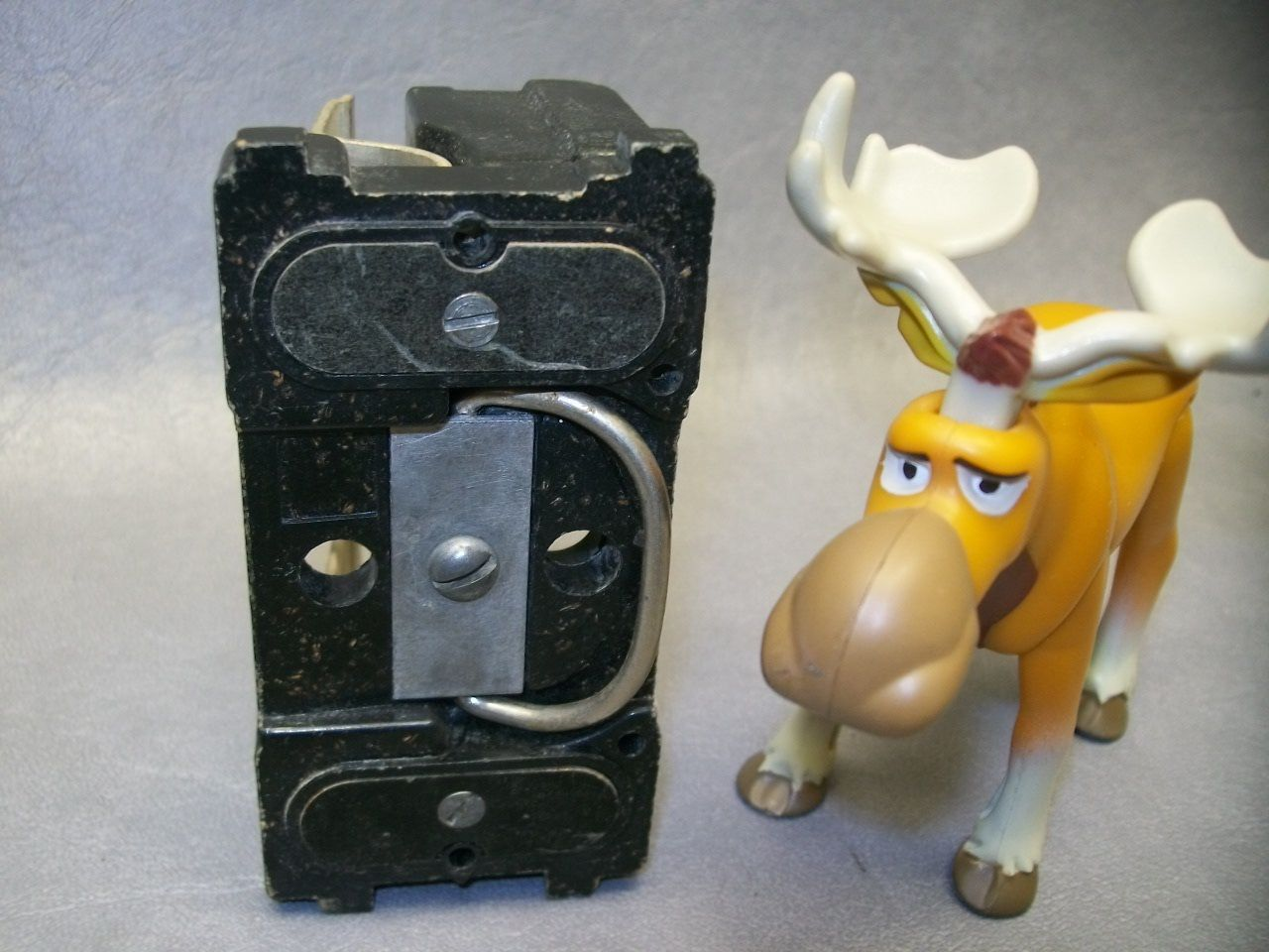 GE Vintage 60 amp Narrow Fuse Pull Out Lid Fits Box TRC260