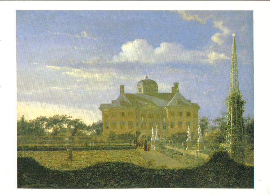 The Huis ten Bosch at the Hague  Art Print Postcard