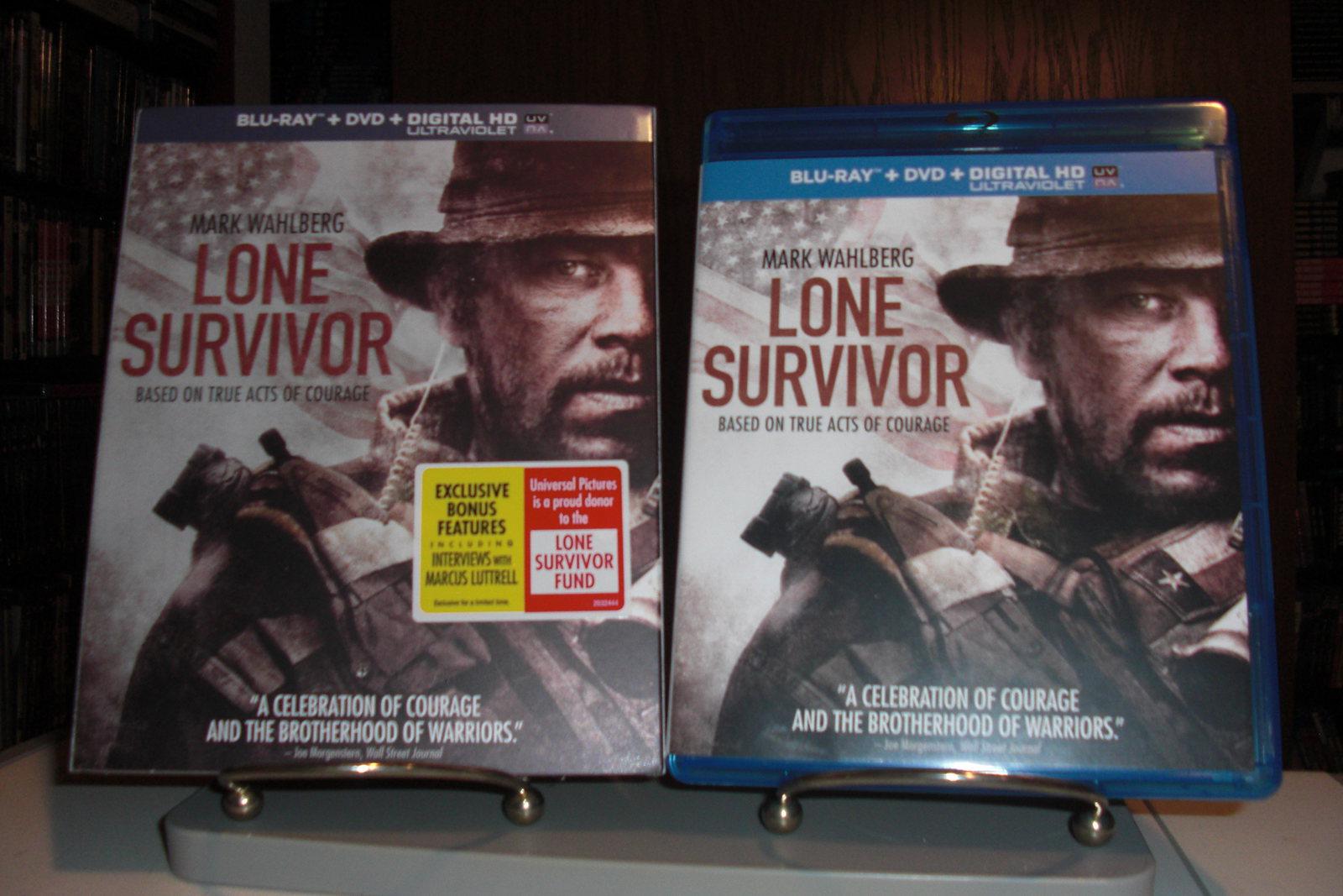 ImageSpace - Lone Survivor Blu Ray Cover   gmispace com
