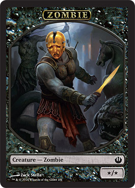 See the small card with the code EB2493F7BD65 on it  The seller    Journey Into Nyx Planeswalker