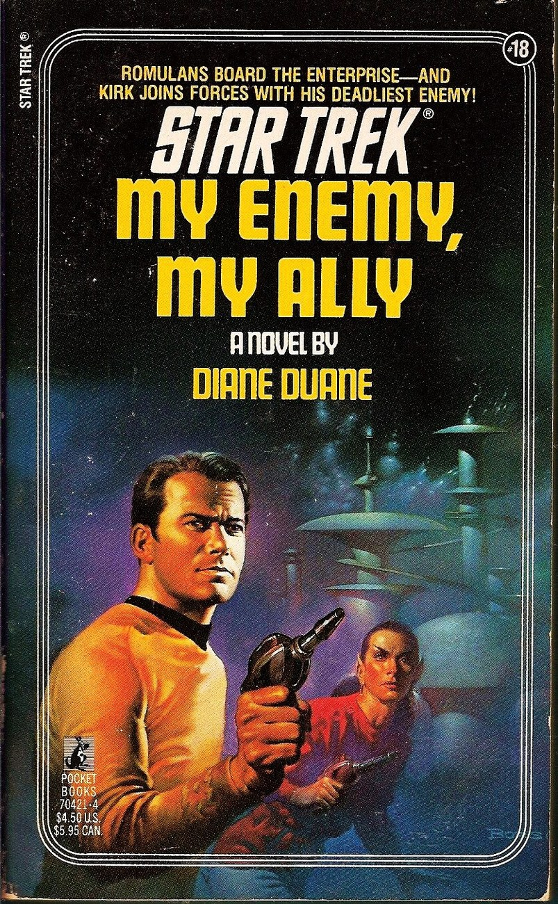 Image 0 of Star Trek The Original Series My Enemy, My Ally No 18 by Diane Duane 1984