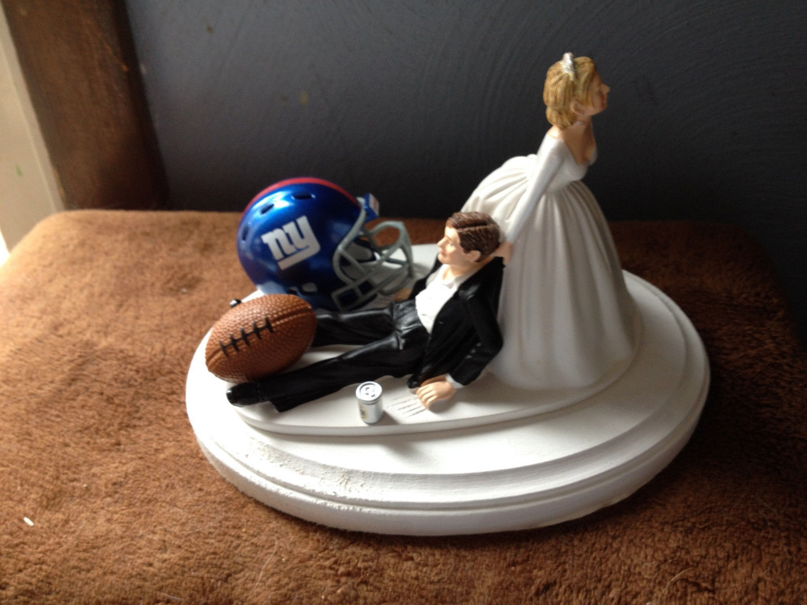 new york themed wedding cake toppers cake topper wedding bridal new york giants nfl 17834