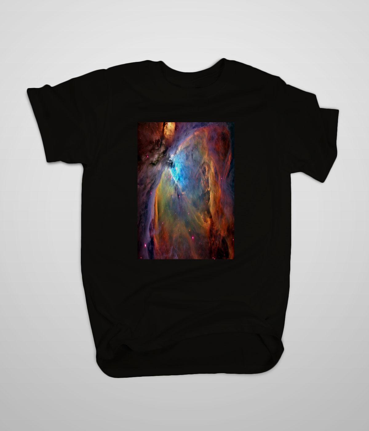 new nasa orion nebula t shirt s 3xl high quality custom t