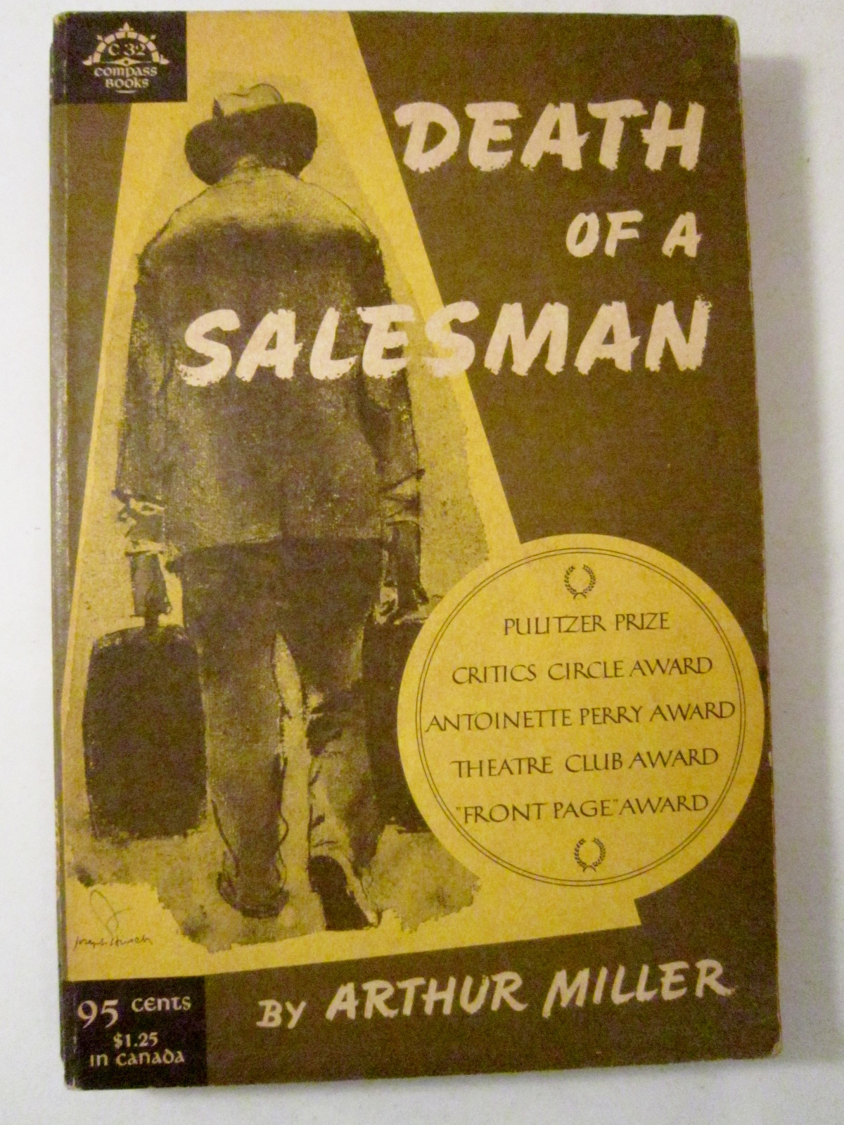 a psychoanalysis of death of a salesman a play by arthur miller This first profile in unmanliness takes a look at traveling salesman, willy loman  from arthur miller's play death of a salesman death of a.